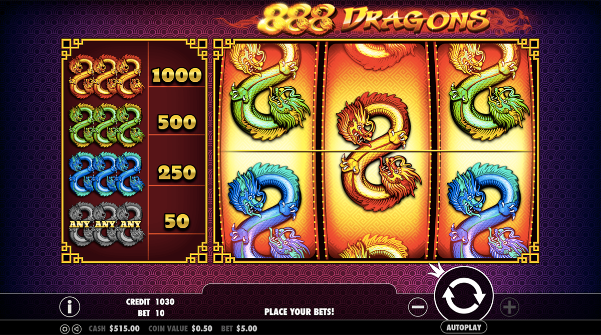 888 dragons pragmatic