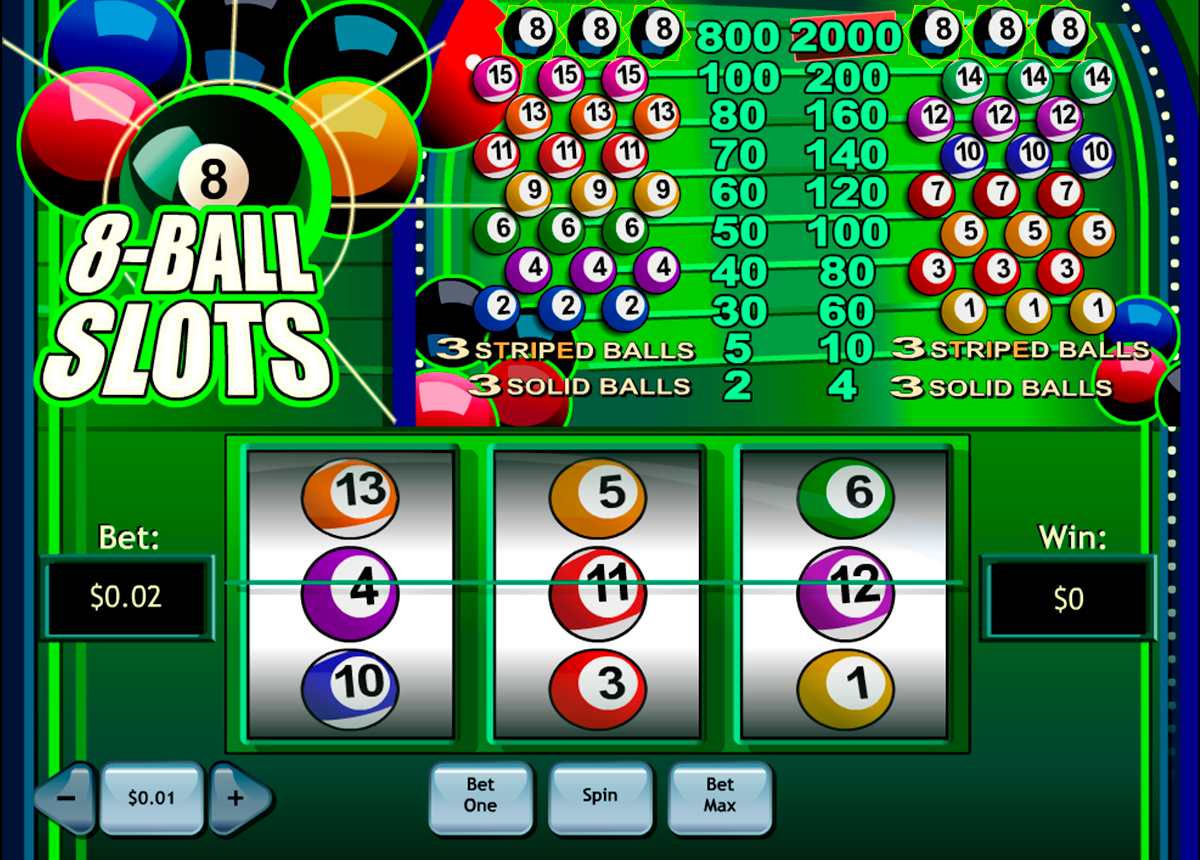8ball slotss playtech