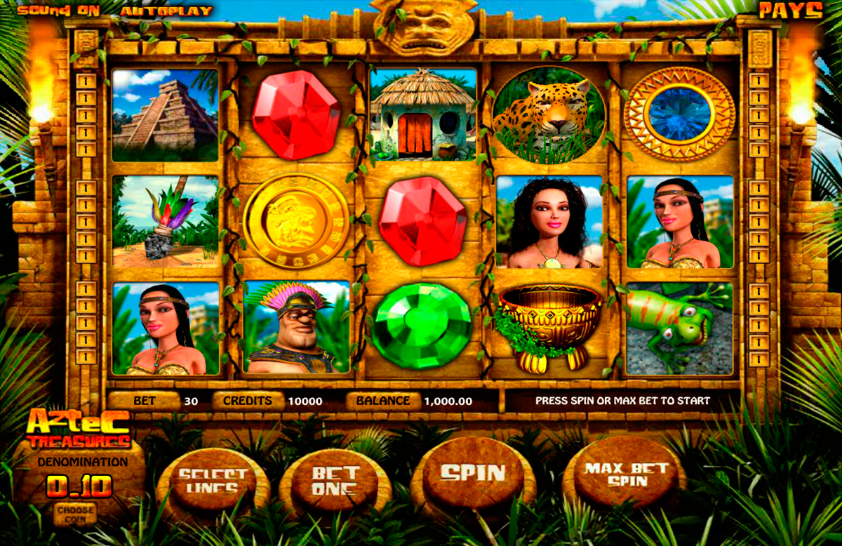 aztec treasures betsoft