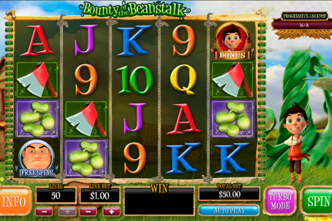 Bounty of the beanstalk playtech