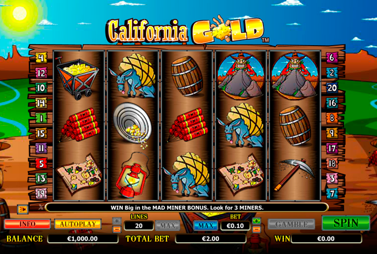 california gold nextgen gaming