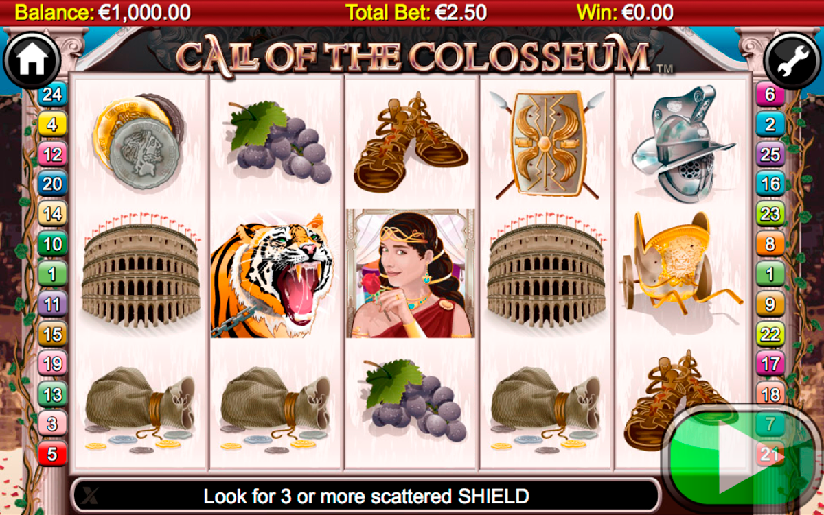call of the colosseum nextgen gaming