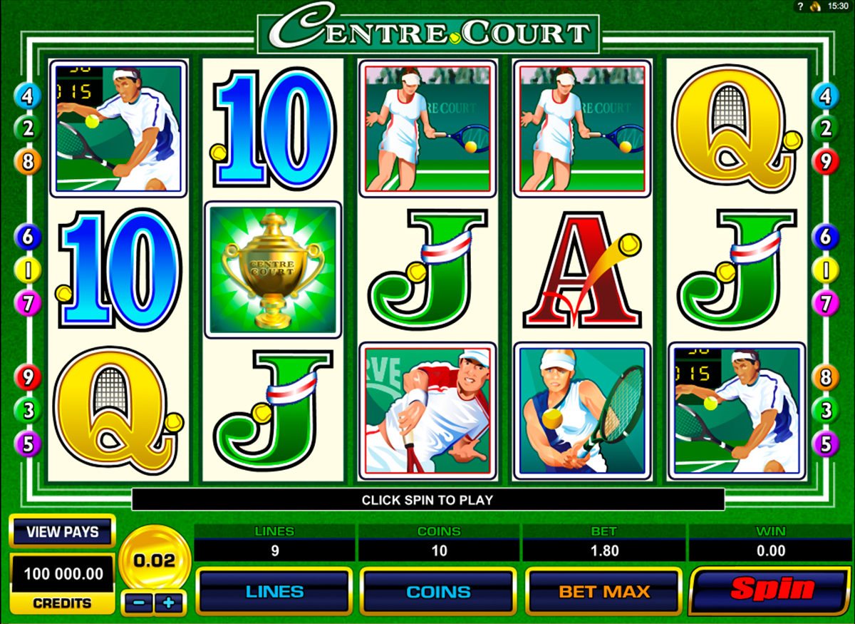 centre court microgaming