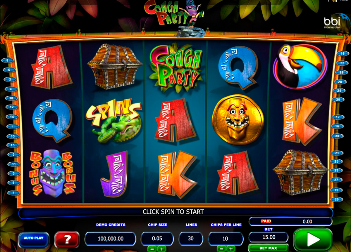 conga party microgaming