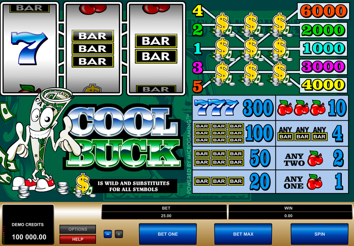cool buck microgaming