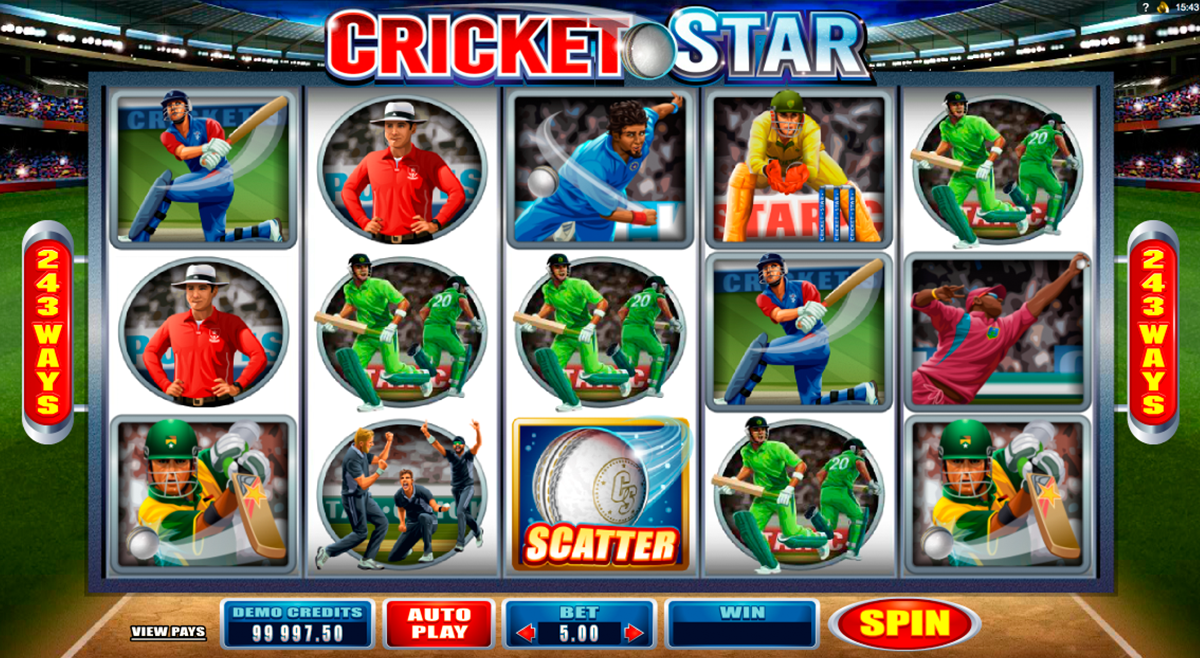 cricket star microgaming