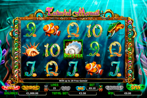 Enchanted mermaid nextgen gaming