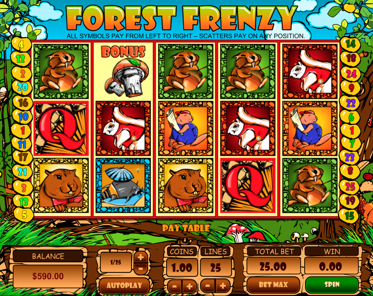 forest frenzy pragmatic