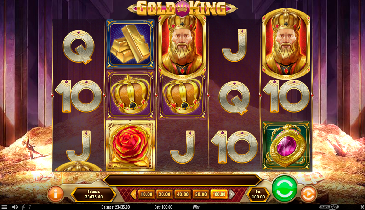 gold king playn go