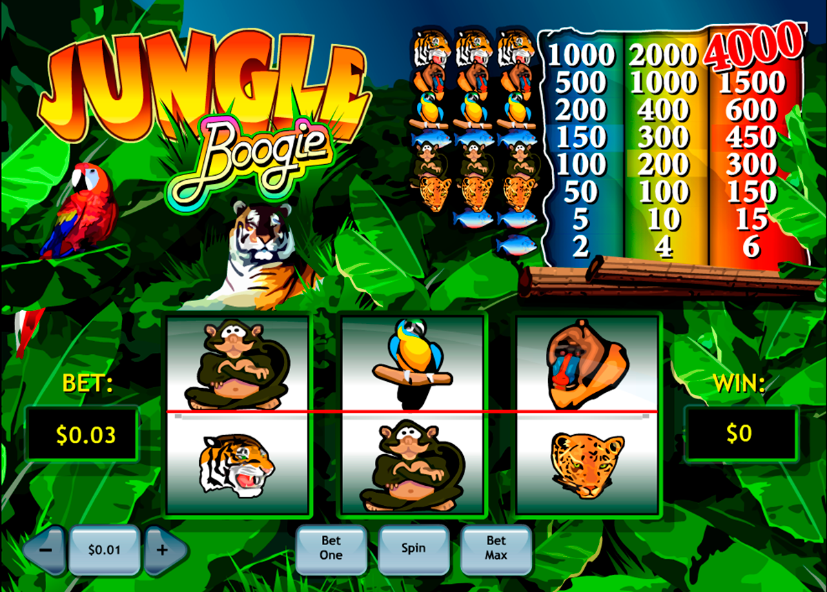 jungle boogie playtech