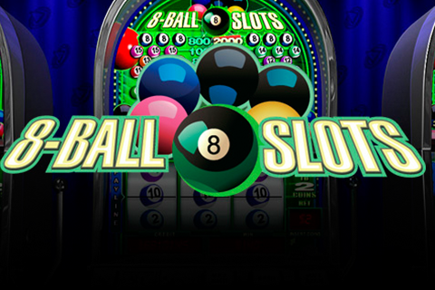 Logo 8ball slots playtech