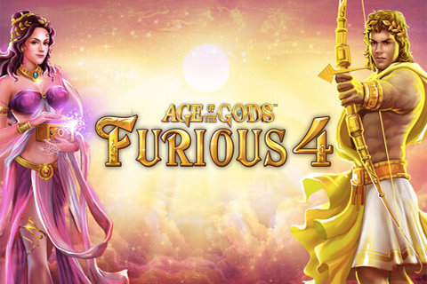 Logo age of the gods furious 4 playtech