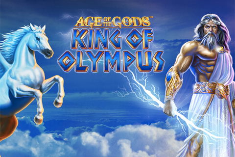 Logo age of the gods king of olympus playtech