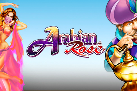 Logo arabian rose microgaming