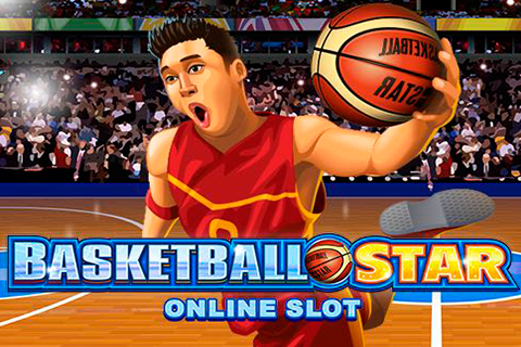 Logo basketball star microgaming