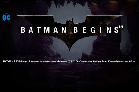 Logo batman begins playtech