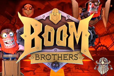 Logo boom brothers netent