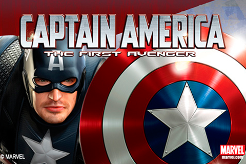Logo captain america playtech