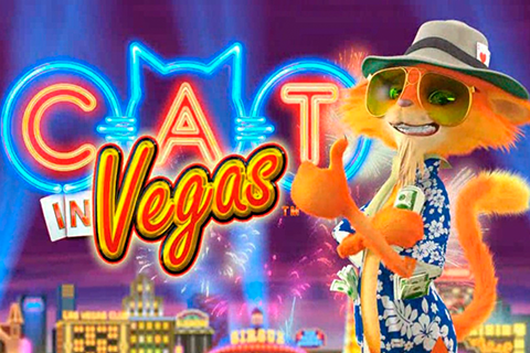 Logo cat in vegas playtech