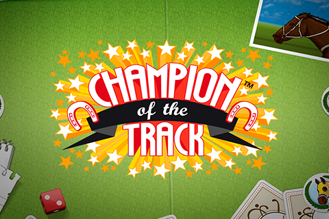 Logo champion of the track netent