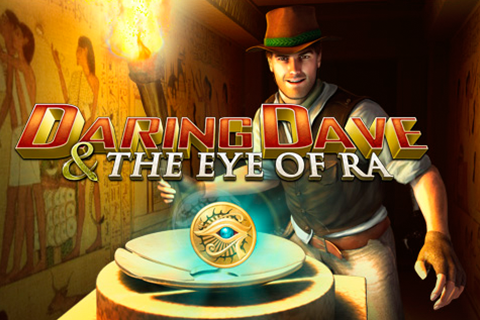 Logo daring dave the eye of ra playtech