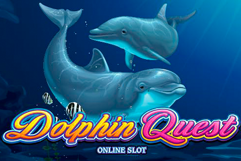 Logo dolphin quest microgaming