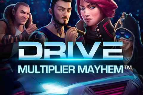 Logo drive multiplier mayhem netent