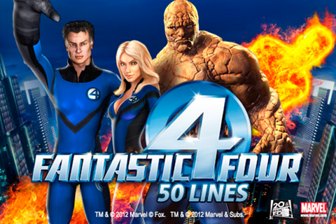 Logo fantastic four 50 lines playtech