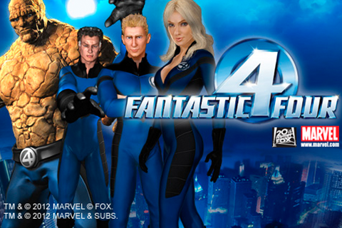 Logo fantastic four playtech