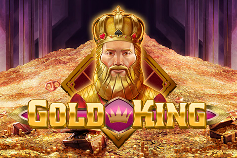 Logo gold king playn go