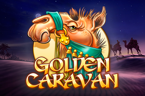 Logo golden caravan playn go