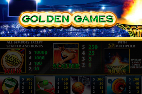 Logo golden games playtech