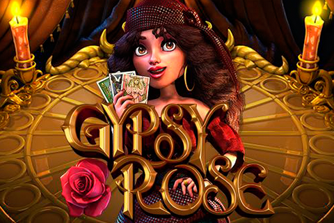 Logo gypsy rose betsoft
