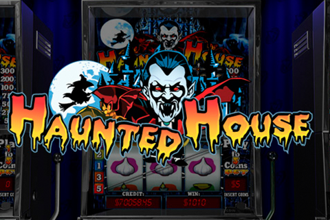 Logo haunted house playtech