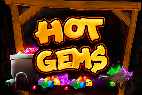 Logo hot gems playtech