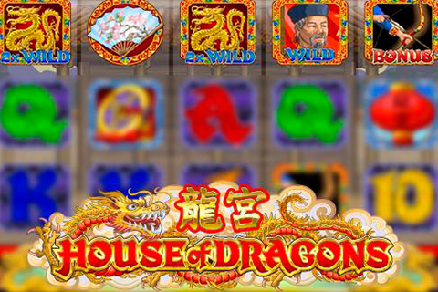 Logo house of dragons microgaming