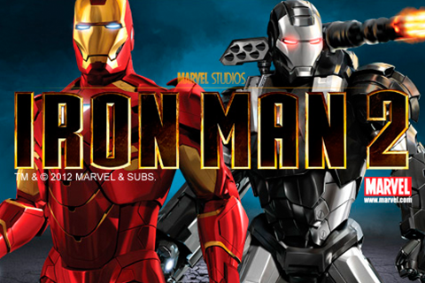 Logo iron man 2 playtech