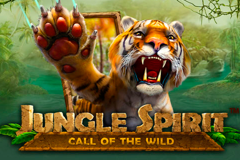 Logo jungle spirit call of the wild netent