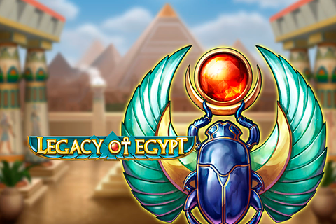 Logo legacy of egypt playn go