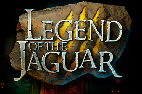 Logo legend of the jaguar playtech