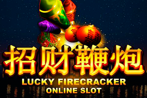 Logo lucky firecracker microgaming