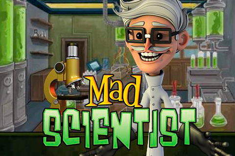 Logo mad scientist betsoft