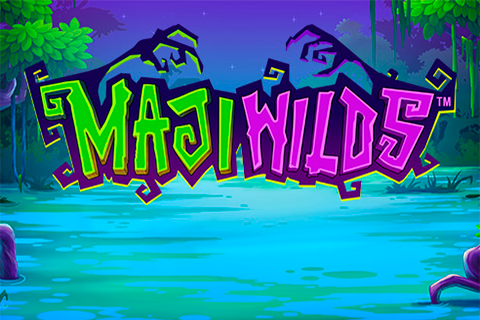 Logo maji wilds playtech