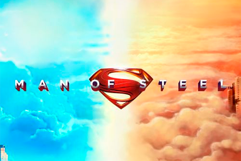 Logo man of steel playtech