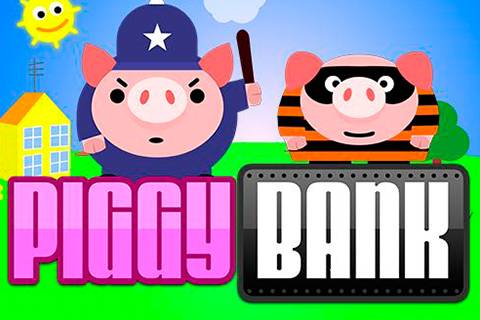 Logo piggy bank playn go