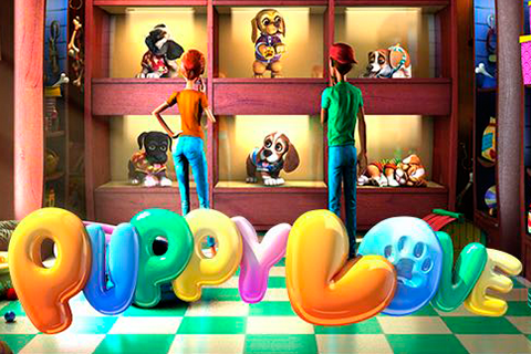 Logo puppy love betsoft