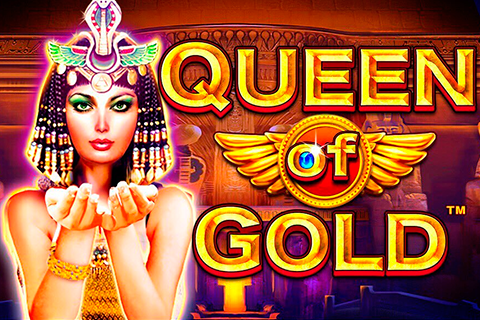 Logo queen of gold pragmatic