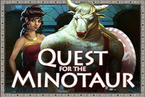 Logo quest for the minotaur pragmatic
