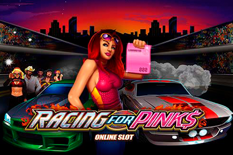 Logo racing for pinks microgaming