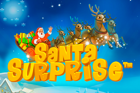 Logo santa surprise playtech